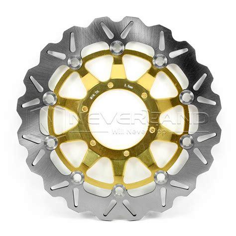 Piringan Cakram Rr Disc Rear Gold 2pcs motorbike front brake disc rotor for honda cbr1000rr cbr 1000 rr 2008 gold ebay