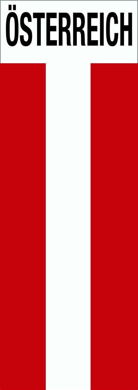 Deutschland Aufkleber In österreich by Aufkleber Flagge Mit Schriftzug 214 Sterreich 115 X 40 Mm