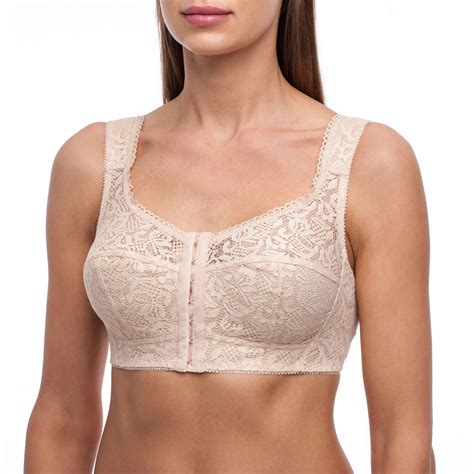 Wireless Front Closure Bra frugue bra front closure cup coverage support non