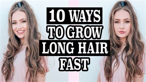 10 Ways To Grow Long Hair Fast | 10 ways to grow long hair fast updated hair routine