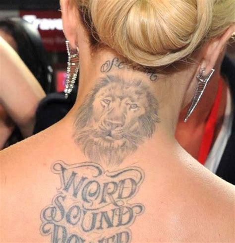 tattoo neck gallery 165 best images about celeb tattoos on pinterest cara