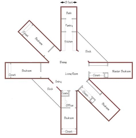 octagon floor plans navajo octagon floor plans house design and decorating ideas