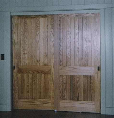 Wood Closet Doors Replace Sliding Mirror Closet Doors Home Improvement