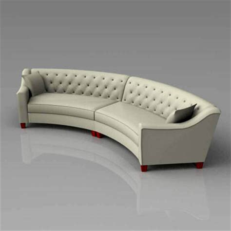 riemann curved tufted sectional marshmallow sofa 3d model formfonts 3d models textures