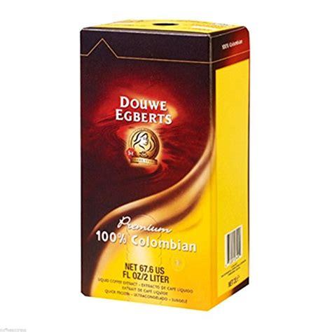 douwe egberts liquid coffee 100 1 box 2 liter
