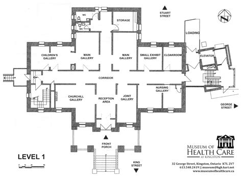 floor plan of a museum rent the museum of health care