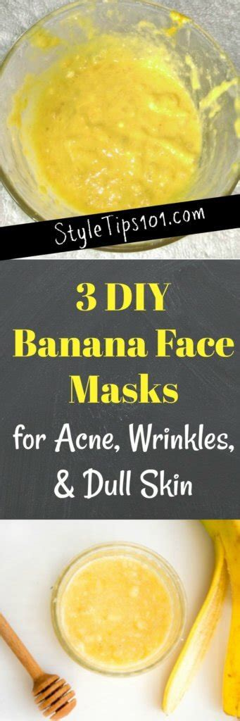 diy banana mask 3 diy banana masks for acne wrinkles and dull skin