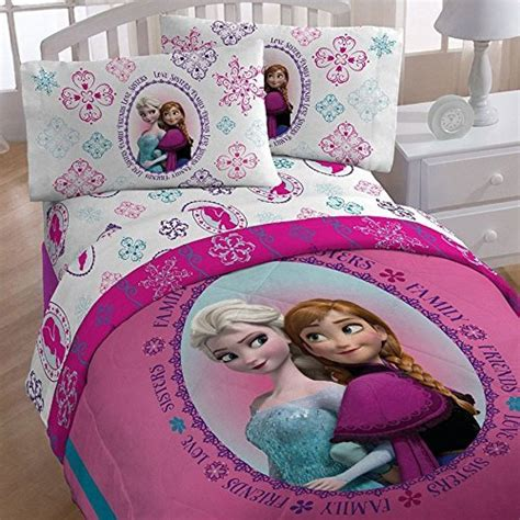 frozen full bed set awardpedia 5pc disney frozen full bedding set anna and