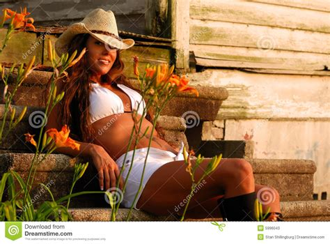 Rancher Home Plans country girl on steps stock photos image 5996043