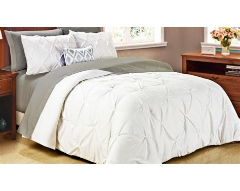 Pintuck Comforter Set by 2pc Home Pintuck Comforter Set