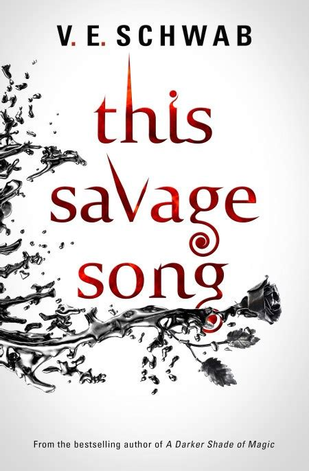 this savage song monsters a smugglerific cover excerpt this savage song by ve schwab the book smugglersthe book