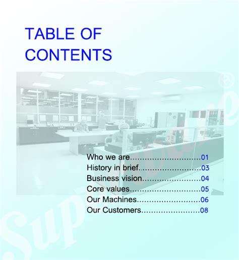 company profile content design giới thiệu