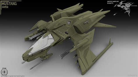 concept design gamma concept ships mustang gamma and delta concept art by