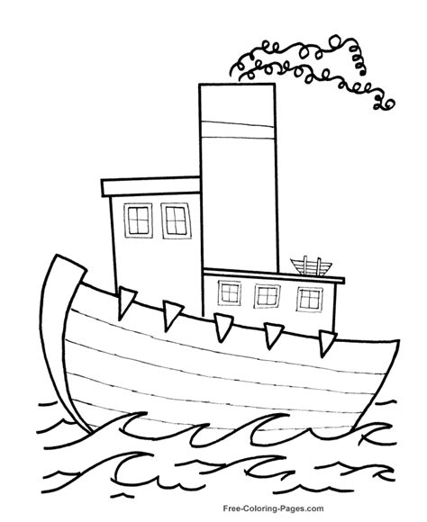 boat drawing activity boat coloring pages free printable coloring sheets and