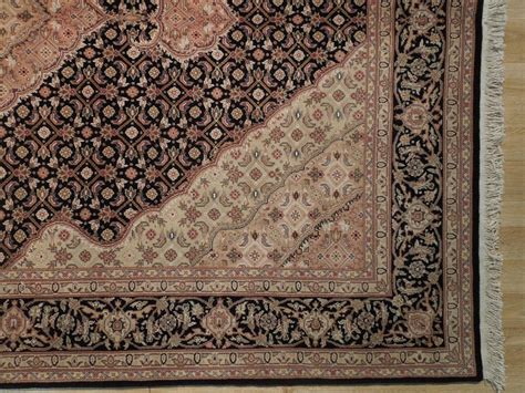 6x9 Area Rugs 100 by Black Tabriz Fish 6x9 Wool Silk Area Rug Ebay