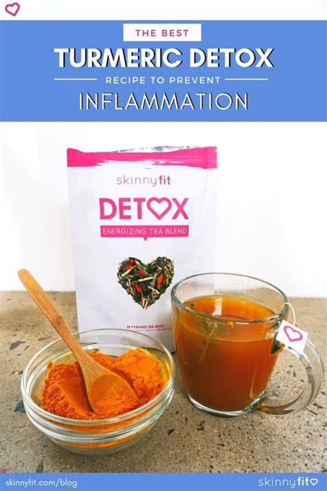 Detox Water To Reduce Inflammation by The Best Turmeric Detox Recipe To Prevent Inflammation