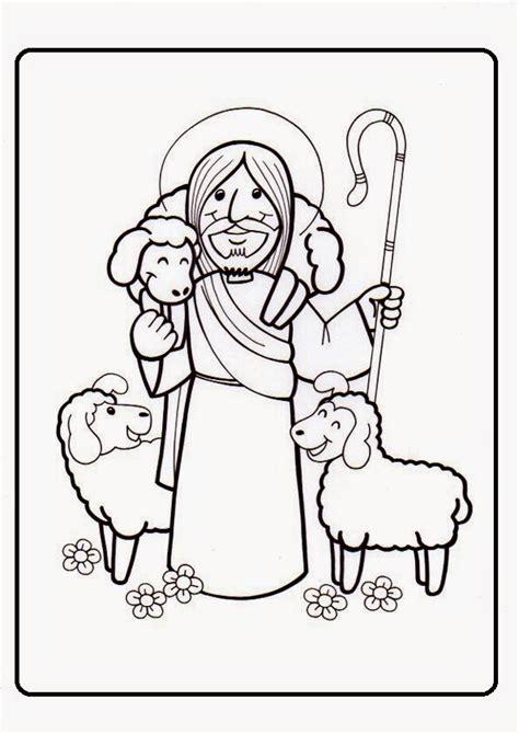 imagenes de jesus buen pastor para imprimir el rinc 243 n de las melli yo soy el buen pastor jes 218 s