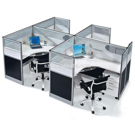 modern l shape glass cubicle walls melamine office desk partition sz wst618 buy office desk