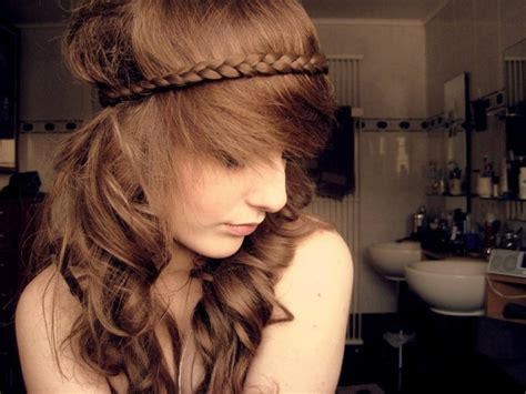 26 pretty braided hairstyle for summer popular haircuts cute braided hairstyle with spiky fringe for summer