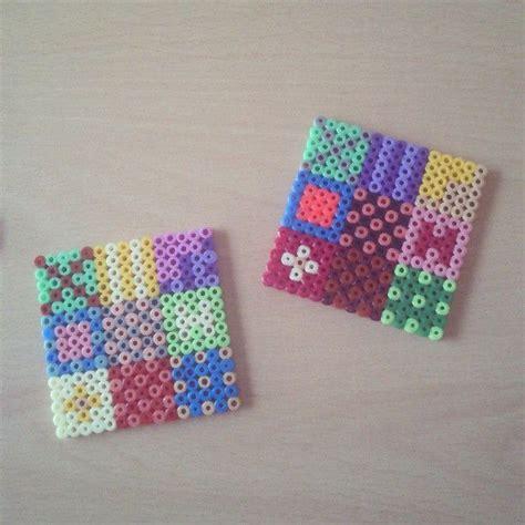 perler bead coasters by hamabeads perler