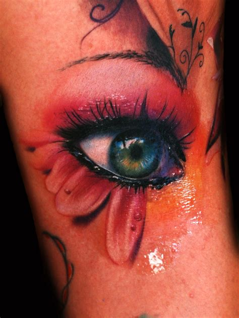 eyeball tattoo artist an incredible tattoo artist near venice alex de pase