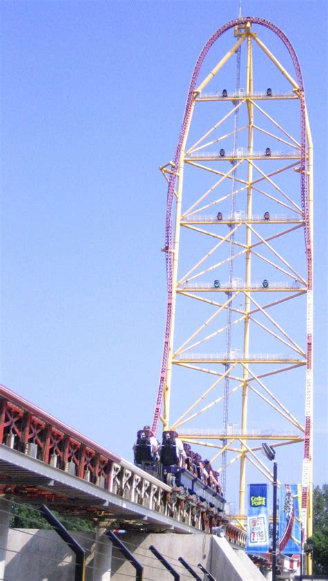 best point top thrill dragster wikipedie