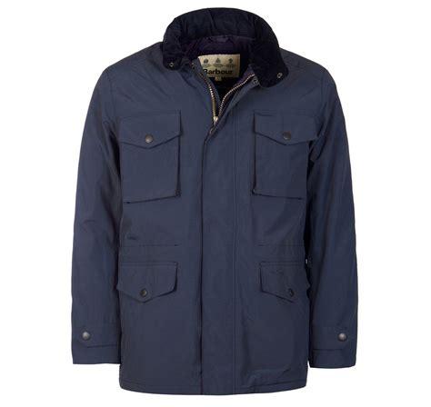Jaket Reg barbour jersey waterproof jacket mens navy mwb0567ny71 regular barbour sale uk