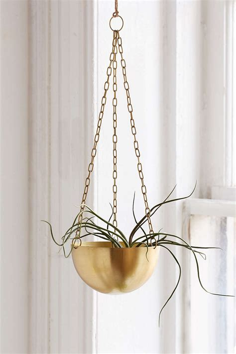 metal hanging planters the designer look for less trendy decor on a budget