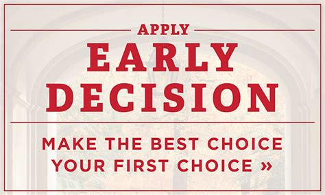 Mba Early Decision Schools by College Entrance Testing Application Requirements