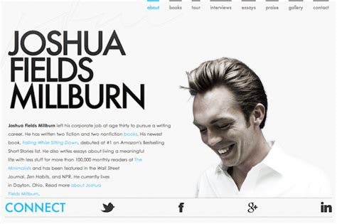 Personal Resume Website Exle by 8 Great Exles Of Personal Domain Names In