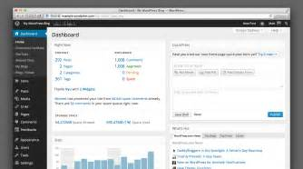 the wordpress com dashboard gets a beautiful makeover