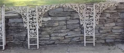 Carport Salvage antique salvage ornamental iron grapevine carport gazebo arbor porch columns lot ebay