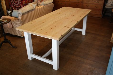 Amazing Of Farmhouse Dining Table The Wooden Workshop Oak 419 The Kitchen Table Restaurant