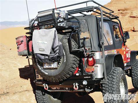 jeep wrangler tj rear bumper