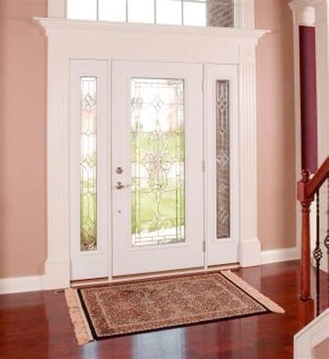 Exterior Fiberglass Doors With Sidelights Andersen Fiberglass Entry Doors With Sidelights Prices 3 Spotlats