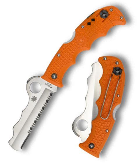 spyderco assist orange spyderco assist orange c79psor knife knife