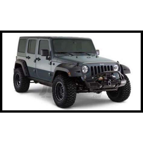 jeep wrangler canada jeep parts buy bushwacker front pocket style fender flares