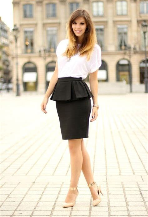 Rok Peplum Mini Polospeplum Mini Skirt 100 best pencil skirts images on my style feminine fashion and pencil skirts
