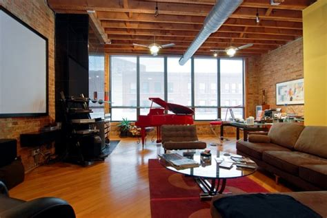brick loft loft living an architect s brick and timber space priced