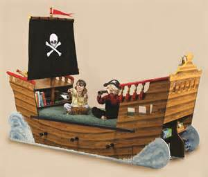Children S Boat Bed Plans Pirate Ship Beds Flights Of