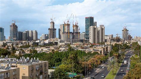tel aviv future skyline alon towers bsr center tlv israel
