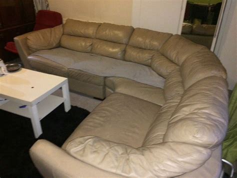 Corner Sofas Second by Second Leather Corner Sofa In Greetland West