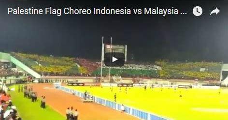 Malaysia Membungkam Indonesia beri dukungan supporter indonesia lakukan