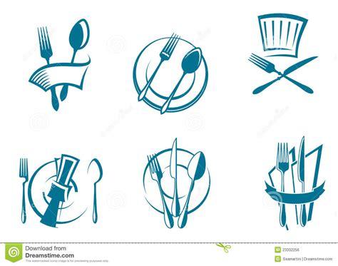 menu industria alimentare icone e simboli menu ristorante immagine stock