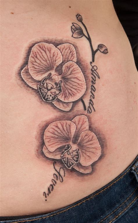 black orchid tattoo black orchid drawing images