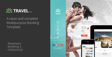 Themeforest Travel Agency | travel agency responsive hotel online booking themeforest