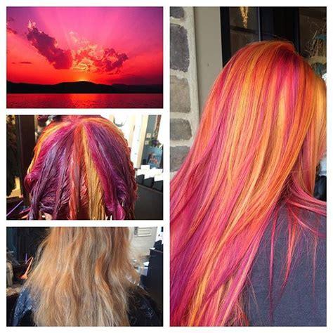 the latest hair colour techniques pinwheel hair color technique hajfestesi technika 2016