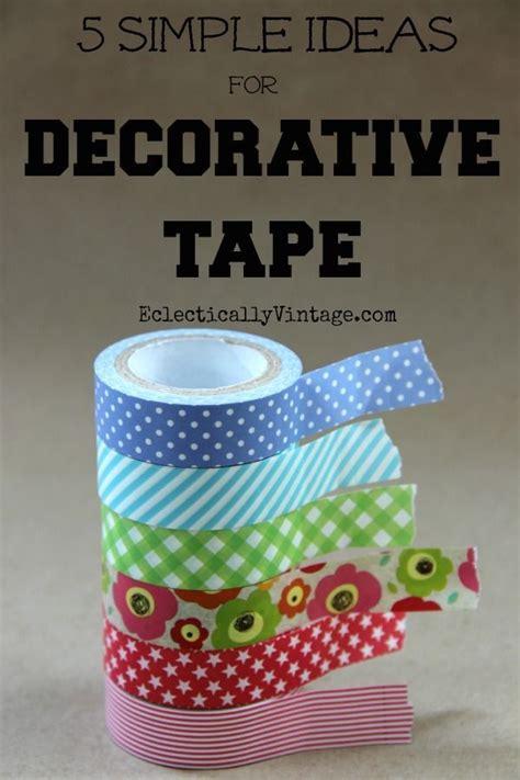 washi tape ideas pinterest