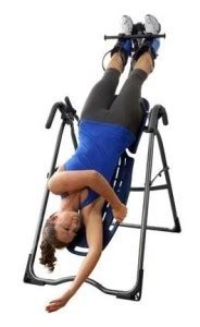 stretch back without inversion table inversion table exercises lose the