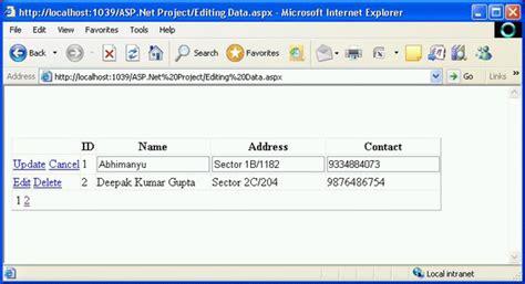 pager template asp net gridview gridview control in asp net part 2